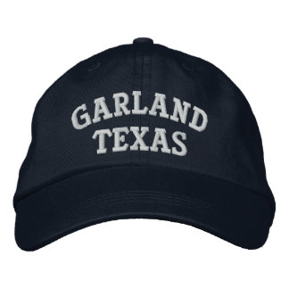 Garland Embroidered Hat