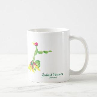 Garland Pose (White Mug) Coffee Mug