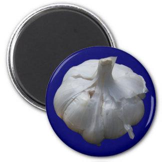 Garlic 2 Inch Round Magnet