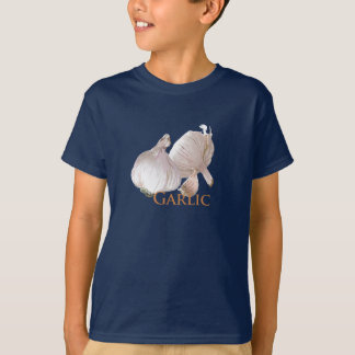 Garlic and Garlic Clove T-Shirt