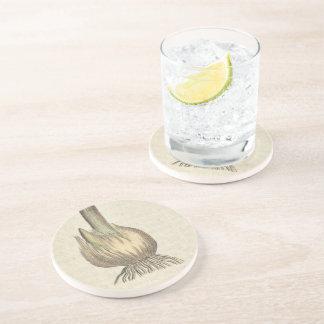 Garlic Beverage Coasters