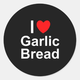 Garlic Bread Classic Round Sticker
