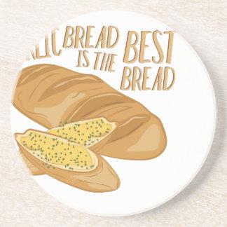 Garlic Bread Drink Coaster