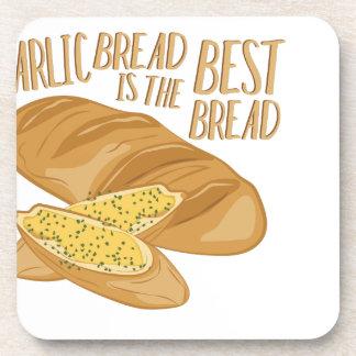 Garlic Bread Drink Coasters