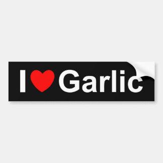 Garlic Bumper Sticker
