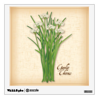 Garlic Chives Herb Wall Sticker