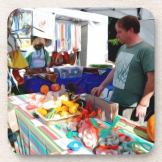 Garlic Festival Vendors 2 Drink Coaster