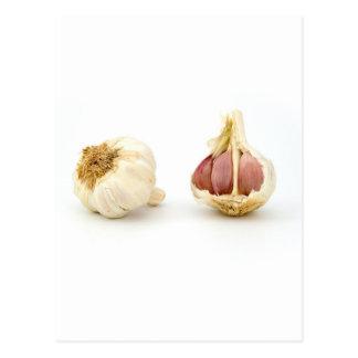 Garlic garlic garlic fun photo print postcard