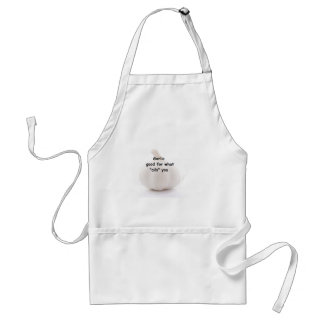 """Garlic, good for what """"ails"""" you standard apron"""