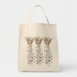 Garlic Grocery Tote Bag