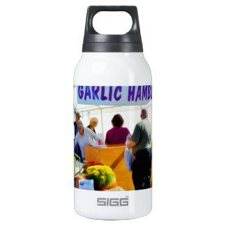 Garlic Hamburgers Insulated Water Bottle