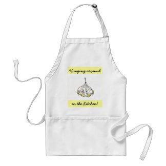 garlic, Hanging around, in the Kitchen! Standard Apron