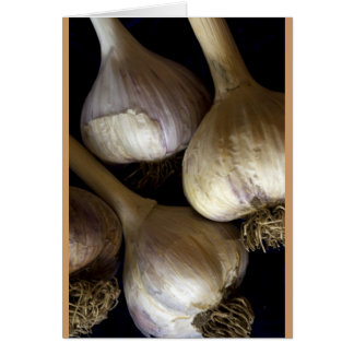 Garlic Heads Card
