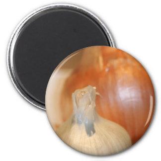 Garlic n' Onions magnet