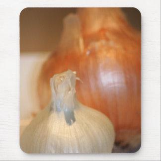 Garlic n' Onions mousepad