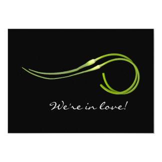 Garlic Scape Wedding II Card