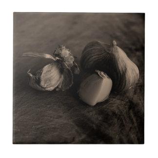 Garlic Still Life Fine Art Photograph Tiles