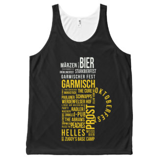 Garmisch in a Glass All-Over-Print Tank Top