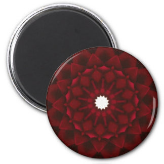 Garnet Kaleidoscope Magnet