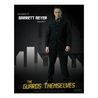 Garrett Meyer Character Poster