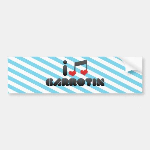 Garrotin Bumper Stickers