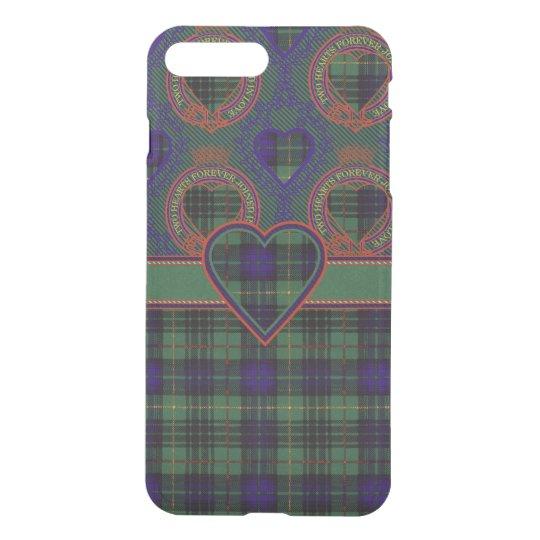 Garrow clan Plaid Scottish kilt tartan iPhone 8 Plus/7 Plus Case