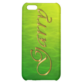 GARRY Name Branded iPhone Cover iPhone 5C Covers