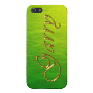 GARRY Name Branded iPhone Cover Cases For iPhone 5