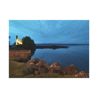 Garrykennedy, Ireland by Night Canvas Print