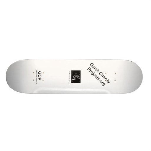 Garth Charity Projects Skateboard