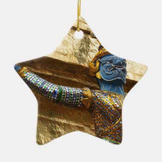 Garuda alone ceramic star ornament