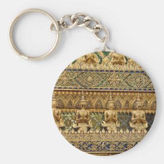 Garuda Basic Round Button Keychain