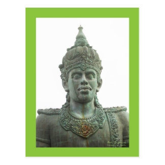 Garuda Whisnu Kencana Bali Postcard