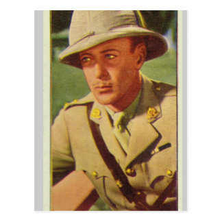 Gary Cooper Postcard