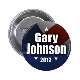 Gary Johnson 2012 2 Inch Round Button
