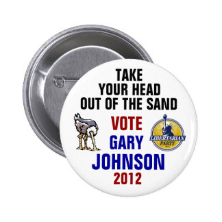 Gary Johnson 2012 button