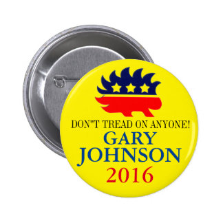 Gary Johnson 2016 2 Inch Round Button