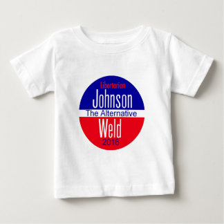 Gary JOHNSON 2016 Baby T-Shirt