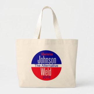Gary JOHNSON 2016 Large Tote Bag