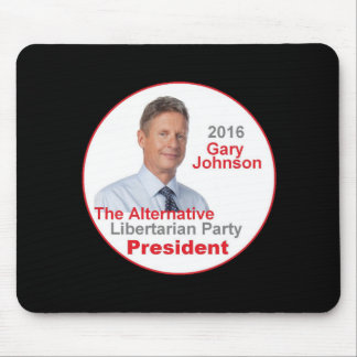 Gary JOHNSON 2016 Mouse Pad