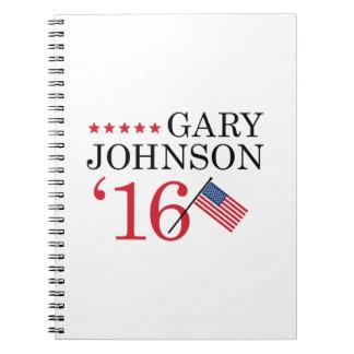 Gary Johnson 2016 Notebooks