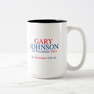 Gary Johnson 2016 Two-Tone Coffee Mug
