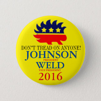 Gary Johnson/Bill Weld 2016 2 Inch Round Button