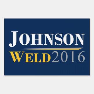 Gary Johnson - Bill Weld 2016 Campaign Logo