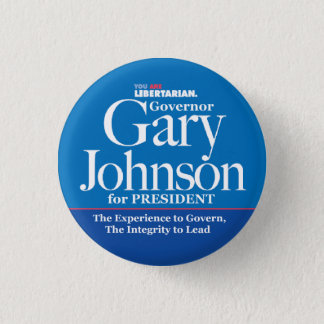 Gary Johnson Button