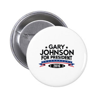 Gary Johnson For President 2 Inch Round Button