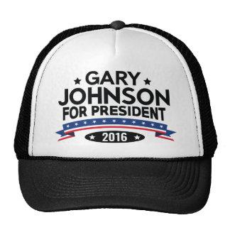 Gary Johnson For President Trucker Hat