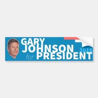 Gary Johnson Libertarian 2016 President Bumper Sticker