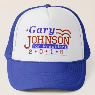 Gary Johnson President 2016 Election Libertarian Trucker Hat