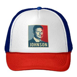 Gary Johnson Propaganda Poster - -  Trucker Hat